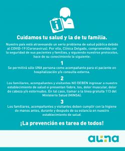 Prevención pacientes COVID-19